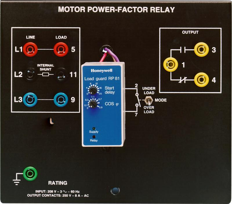 Labvolt Series By Festo Didactic Motor Power Factor