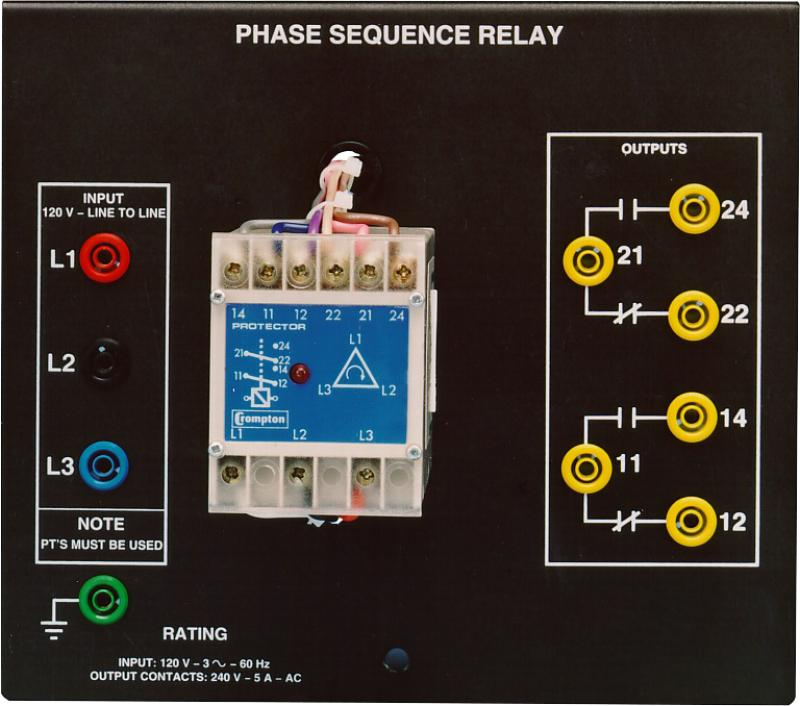 Labvolt Series By Festo Didactic Phase Sequence Relay
