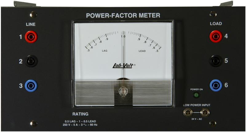 Power Factor Meter : Labvolt series by festo didactic three phase power