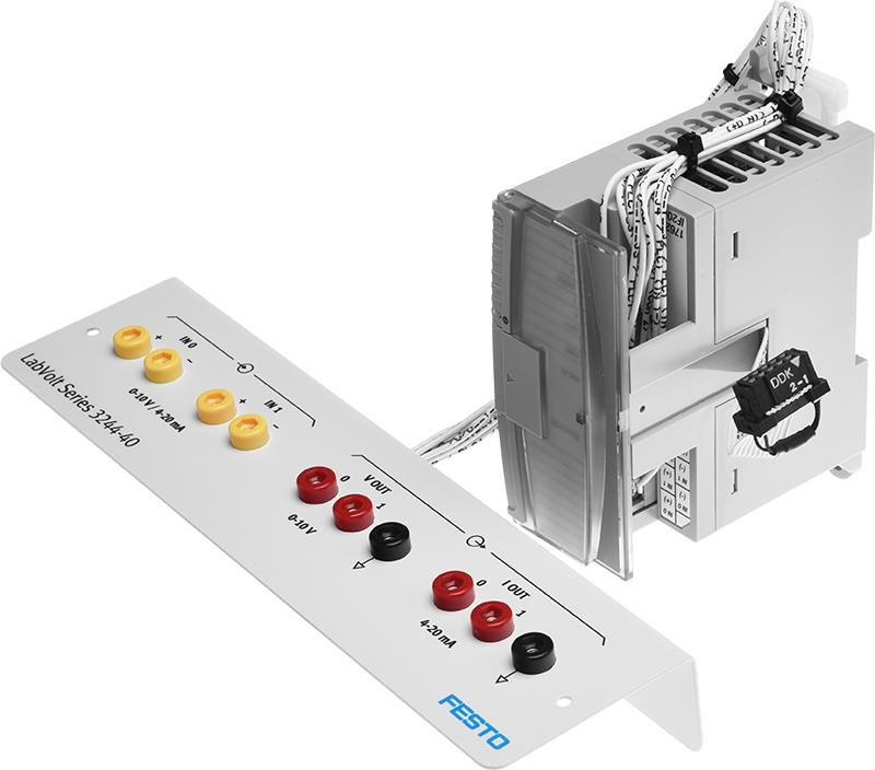 LabVolt Series by Festo Didactic - Analog I/O Expansion Kit