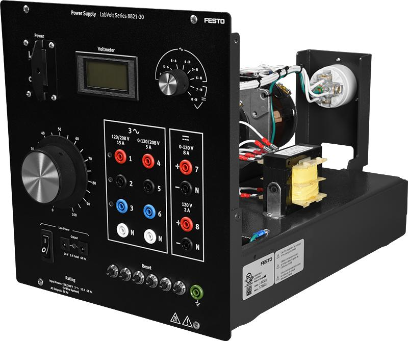 Labvolt Series By Festo Didactic Power Supply 8821 20