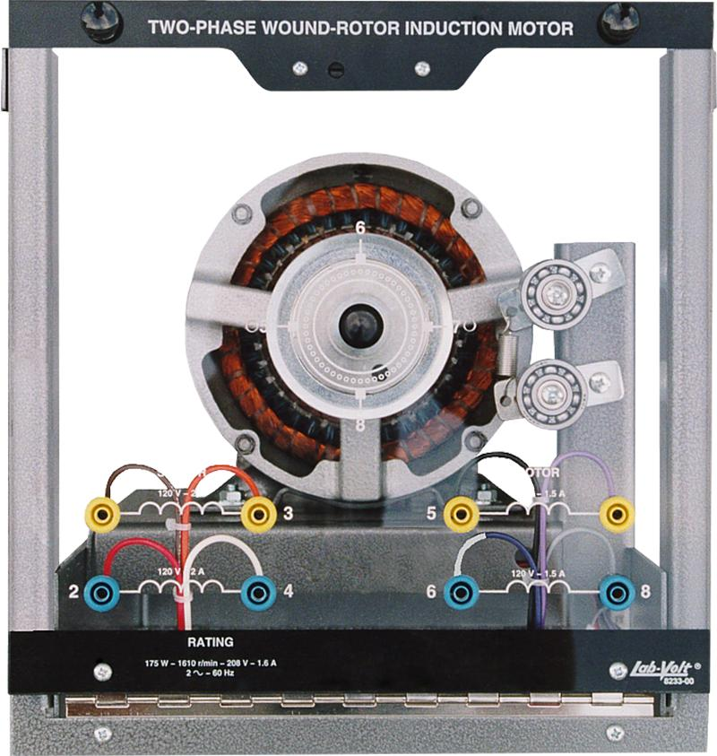 Labvolt Series By Festo Didactic Two Phase Wound Rotor