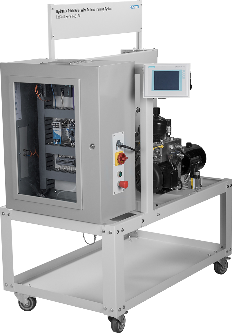Labvolt Series By Festo Didactic Lead Acid Batteries Training Ac Circuit Experiment Box Electrical Equipment Basic Hydraulic Pitch Hub System