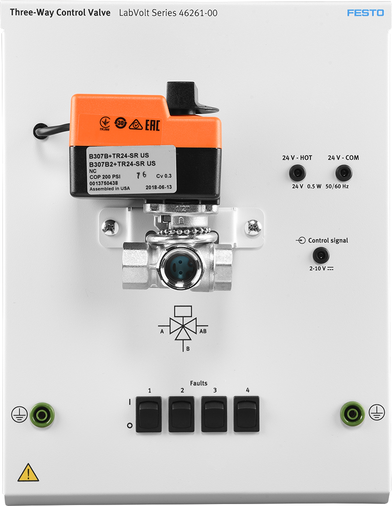 LabVolt Series by Festo Didactic - Three-Way Control Valve (46261-00)